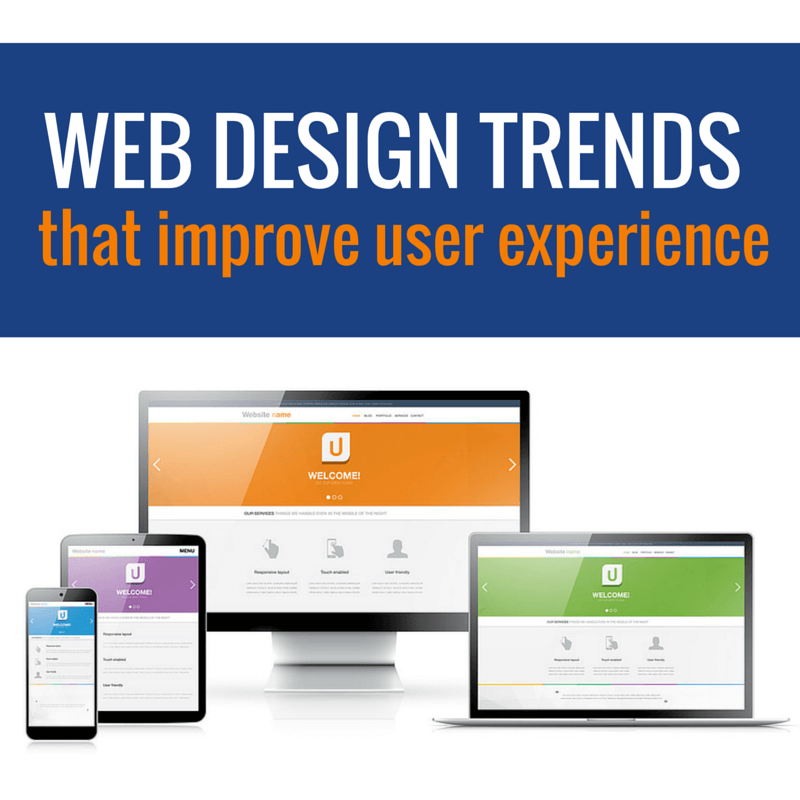 Top 10 web design trends that improve user experience