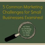 marketing challenges for small business