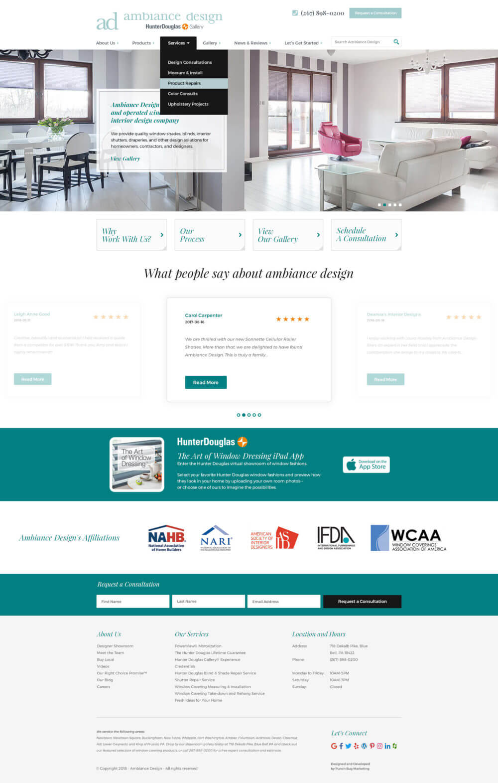 Ambiance Design Home Page