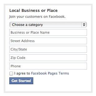 What type of Facebook page