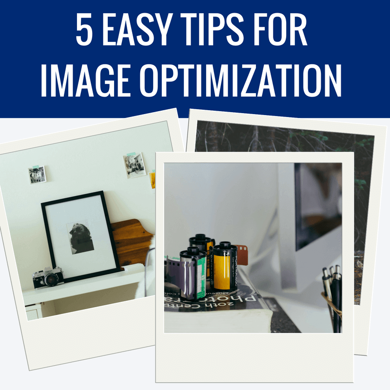 5 easy tips for image optimization