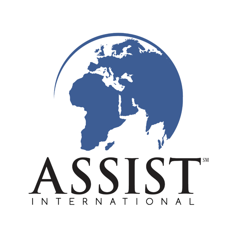 Assist International Square Logo