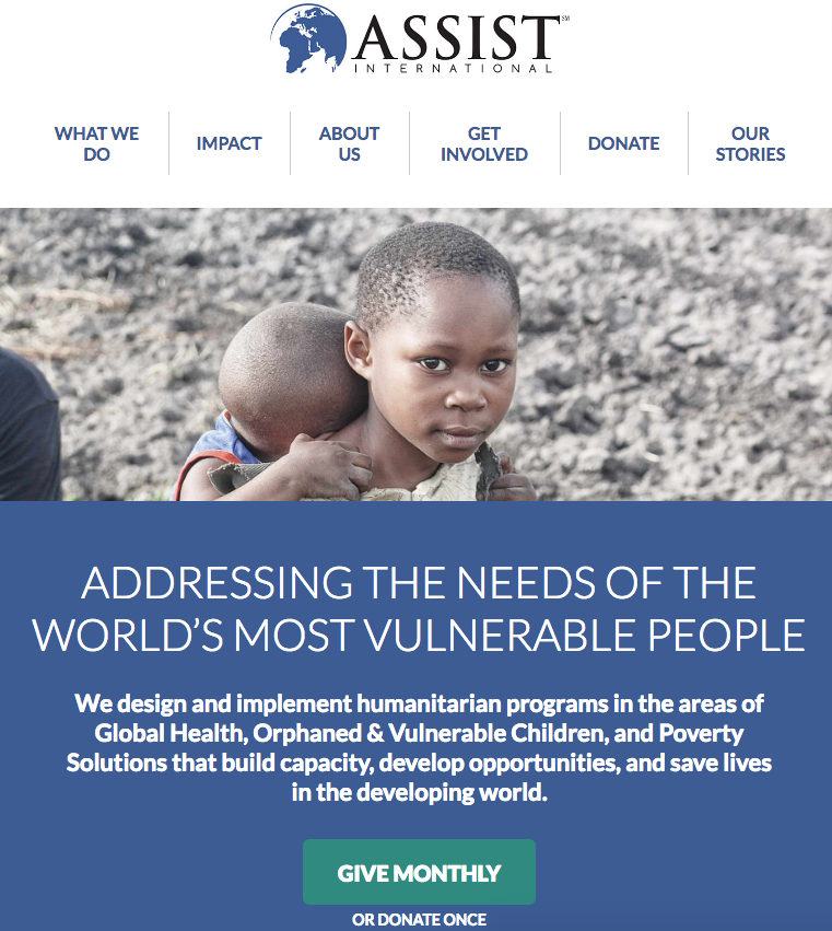 Assist International Website