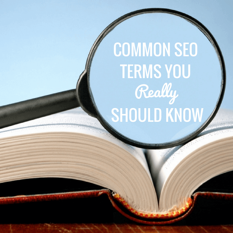SEO Terms To Know