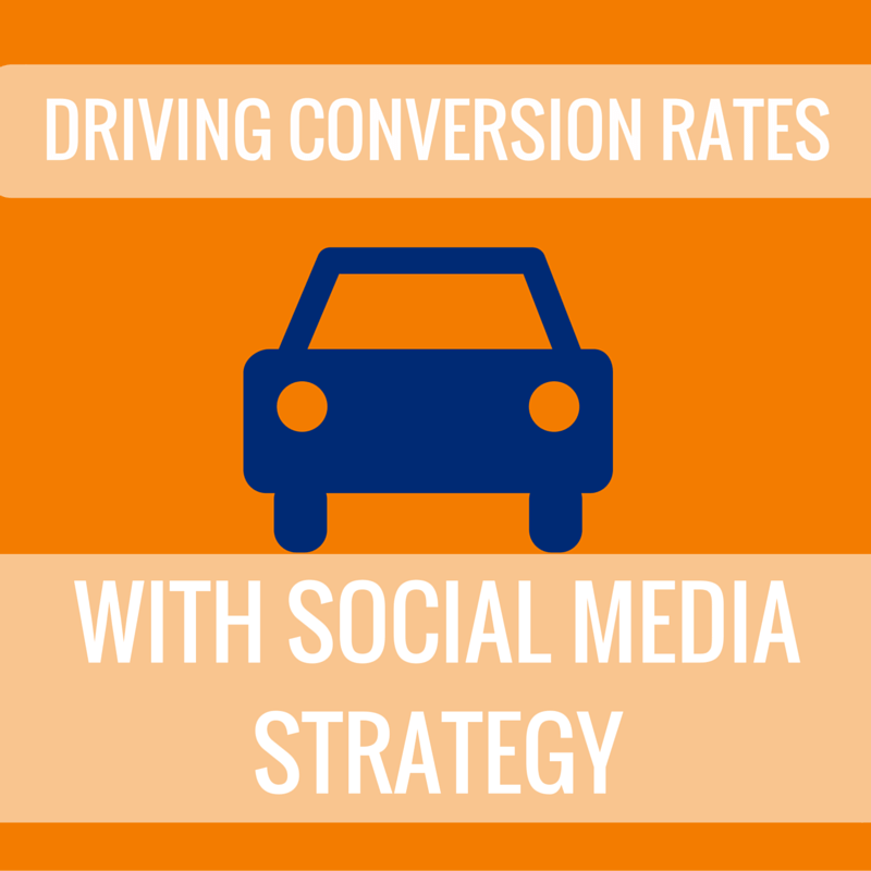 social media strategy that drives conversions