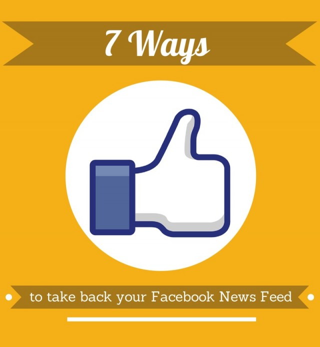 Facebook News Feed Options