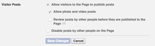Facebook Settings 1