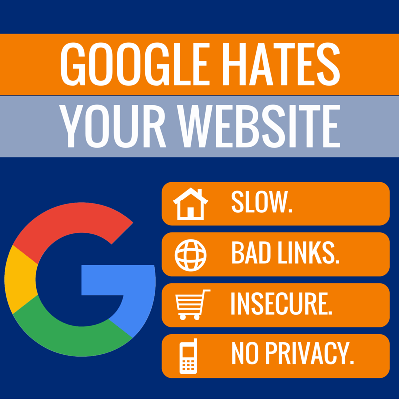 Google Hates Your Website (1)