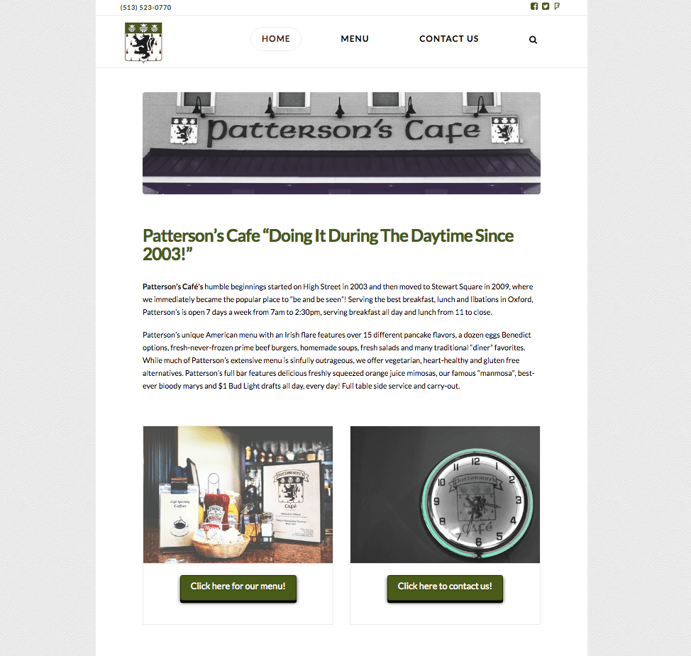 Patterson's Cafe