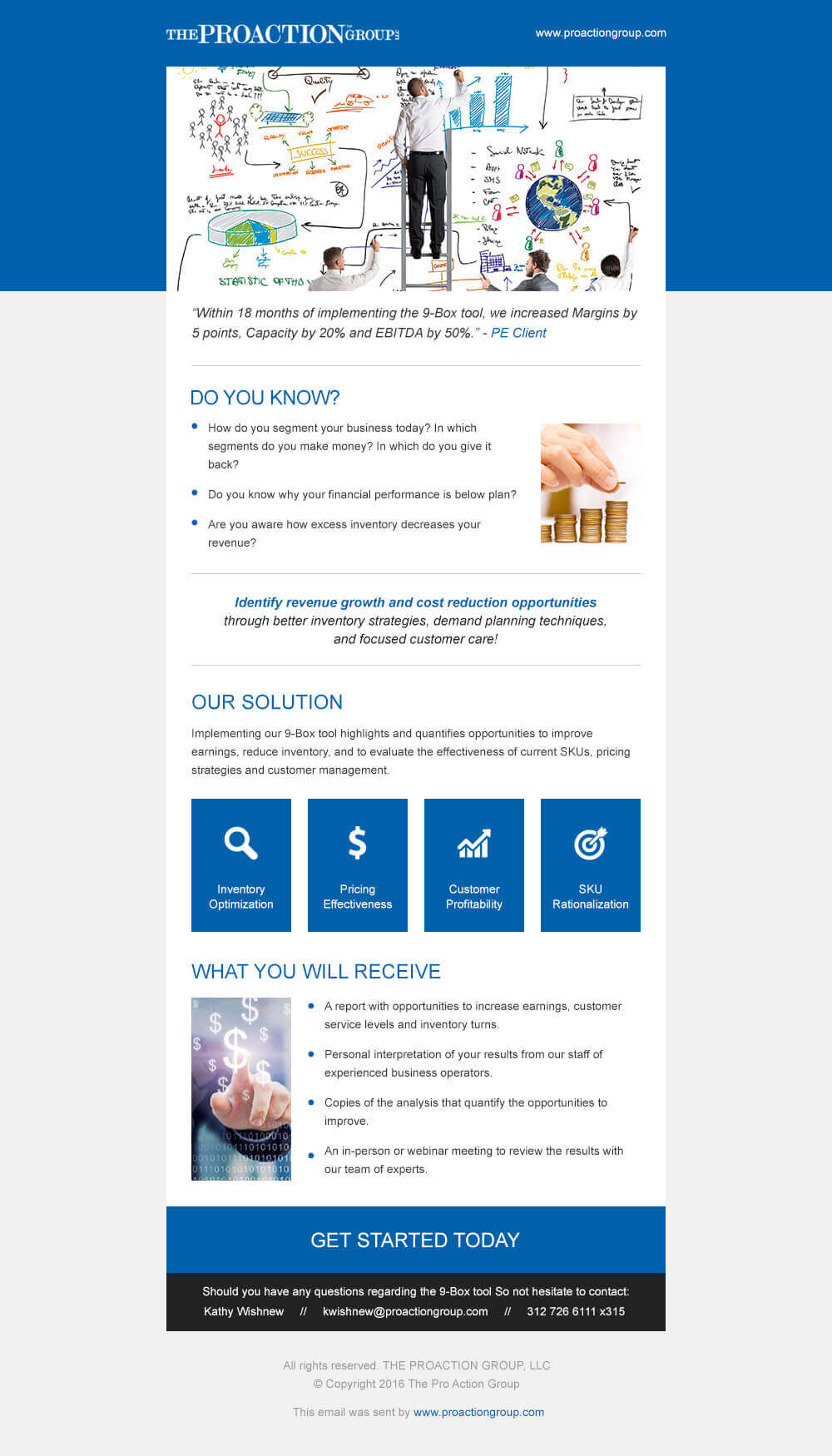 ProAction Group Email Template