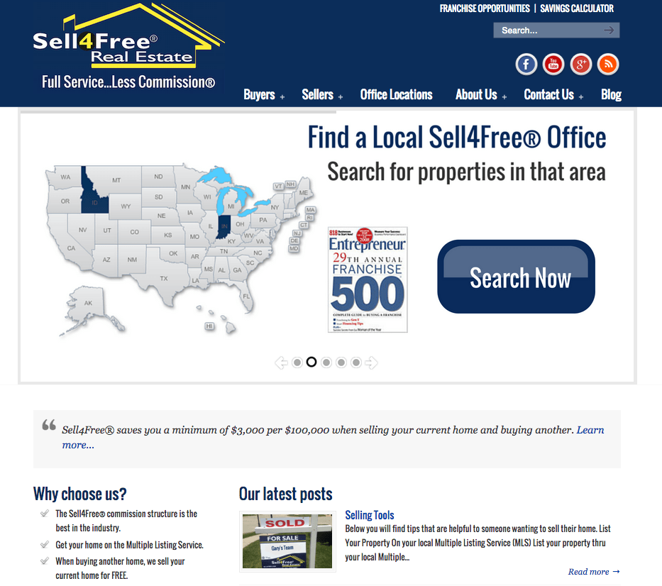 sell4free real estate systems