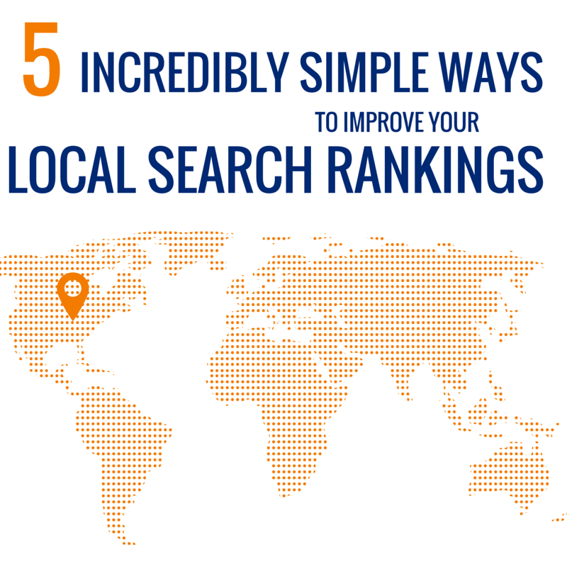 Ways to Improve Your Local Search Rankings