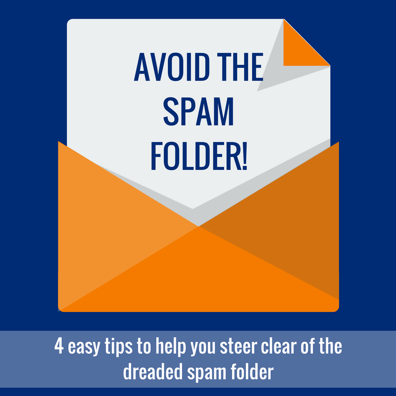 Tips to stay out of the Spam folder